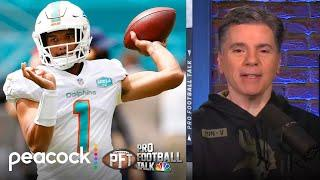 Who wins Tua Tagovailoa-Justin Herbert duel in Week 10? | Pro Football Talk | NBC Sports