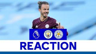 'I Live For These Moments' - James Maddison   Man City 2 Leicester City 5