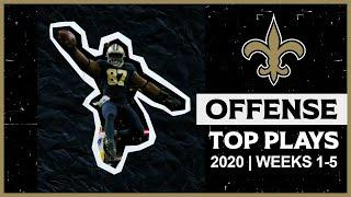 Saints Offense Highlights - 2020 Top Plays from Weeks 1-5