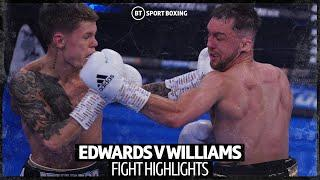 Charlie Edwards v Kyle Williams official fight highlights