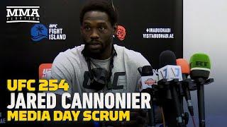 UFC 254: Jared Cannonier Says Goal Is Winning UFC Title, Not Fighting Israel Adesanya - MMA Fighting