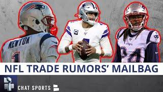 NFL Trade Rumors On Stephon Gilmore & Dak Prescott + Cam Newton 2020 NFL MVP? | Mailbag