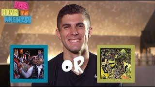 Tom Brady or Aaron Rodgers? Christian Pulisic & Jozy Altidore play 'You Have To Answer' | ESPN FC