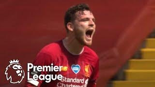 Andy Robertson heads Liverpool into the lead against Burnley | Premier League | NBC Sports