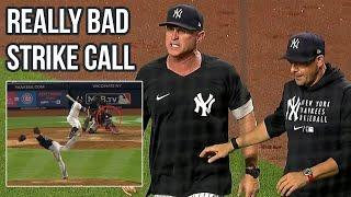 Umps get big pitch wrong then eject the wrong coach, a breakdown