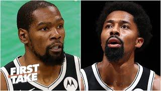 Can Kevin Durant & Kyrie Irving reach the NBA Finals without Spencer Dinwiddie? | First Take