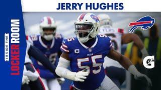 Jerry Hughes After Victory Over New England Patriots   Buffalo Bills