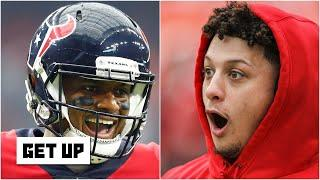 If Deshaun Watson were KC's QB instead of Patrick Mahomes, would they win just as much? | Get Up