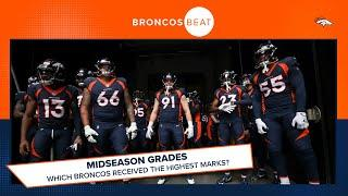 Midseason grades: Which Broncos received high marks after eight games?   Broncos Beat