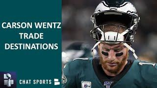 Carson Wentz Trade Destinations: Top 5 NFL Teams That Could Trade For The Eagles QB In 2021