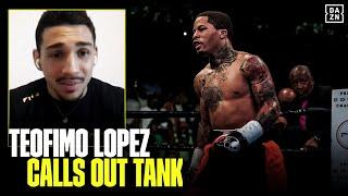 Teofimo Lopez Reveals Personal Reason For Wanting Gervonta Davis Fight Next
