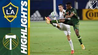 LA Galaxy vs. Portland Timbers | October 7, 2020 | MLS Highlights