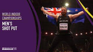 Men's Shot Put | World Indoor Championships Birmingham 2018