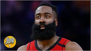 James Harden wants the pandemic to 'calm down' before returning to the NBA | The Jump