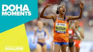 Hassan Wins Unprecedented Double Gold | World Athletics Championships 2019 | Doha Moments