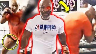 OMG! MIKE TYSON INSANE MUSCLE GAIN AT AGE 53- LEGS, BACK, TRAPS, NECK- 6 MONTH BODY TRANSFORMATION