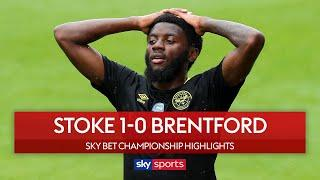 Brentford miss out on chance to move into second! | Stoke 1-0 Brentford | Championship Highlights