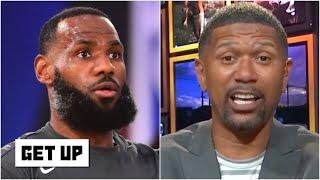 Jalen Rose was 'extremely impressed' with LeBron's scrimmage game vs. the Mavericks | Get Up