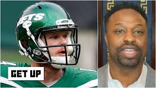 The Bears should trade for Sam Darnold if the Jets move on from him - Bart Scott | Get Up