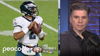 Can Jalen Hurts fix Eagles' 'terribly bad' offense? | Pro Football Talk | NBC Sports