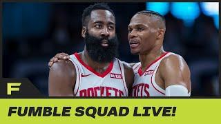 James Harden & Russell Westbrook Getting Treated Better Than Rockets Teammates In NBA Bubble