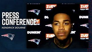 """Kendrick Bourne on Mac Jones: """"He has a swagger to him"""" 
