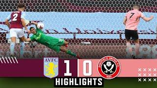 Aston Villa 1-0 Sheffield United | Premier League highlights | Egan red card & Martinez penalty save