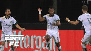LAFC 2-2 Portland Timbers: Jeremy Ebobisse's late goal helps Timbers win Group F | MLS Highlights