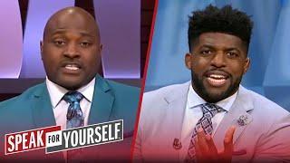 Wiley & Acho on if Rodgers is a better QB than Brady, makeup of the GOAT | NFL | SPEAK FOR YOURSELF