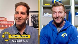 Sean McVay Talks Rams Win Over Eagles and How He Likes His Wings | Coach Speak with Peter Schrager