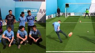 Did Man City fans have the unluckiest volleys of all time?   Volley Challenge