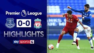 Sub-par Liverpool's title charge slowed by Merseyside draw | Everton 0-0 Liverpool | EPL Highlights