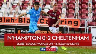 Robins seal win after Cobblers miss penalty   Northampton 0-2 Cheltenham   Lge 2 Play Off Highlights