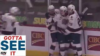 Gotta See It: 15-Year-Old Bedard Scores First Career WHL Goal