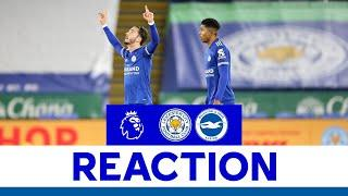 'That Was A Performance' - James Maddison   Leicester City 3 Brighton 0   2020/21