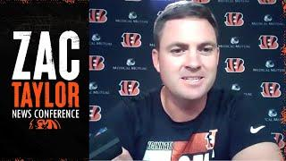 Zac Taylor News Conference July 29, 2020 | Cincinnati Bengals