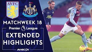 Aston Villa v. Newcastle | PREMIER LEAGUE HIGHLIGHTS | 1/23/2021 | NBC Sports