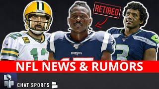 NFL Preseason CANCELED + NFL Rumors & News On Antonio Brown Retirement & Aaron Rodgers' Future