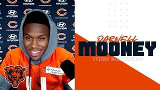Darnell Mooney on managing expectations, working with Foles | Chicago Bears