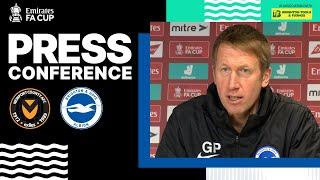 Graham Potter's Newport County Press Conference