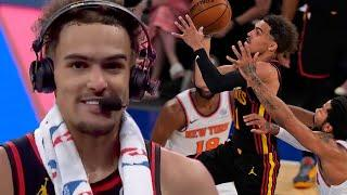 Trae Young Shuts Madison Square Garden Up After Game Winner, Says He Loved Hurting Knicks Fans