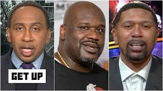 Stephen A. & Jalen Rose discuss Shaq saying '19-20 NBA champions would have an 'asterisk'  | Get Up