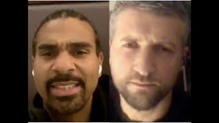 WOW! -DAVID HAYE & CARL FROCH CLASH ON USYK/CHISORA OUTCOME-  'USYK IS GOING TO BE TOO GOOD FOR HIM'