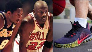 Kobe Bryant's Shares Sweet Message To Michael Jordan As Nike Reveals NEW Kobe Shoes