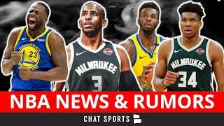 NBA Rumors & News: Thunder HC Billy Donovan Out, Giannis Latest + Chris Paul & Draymond Green Trade?