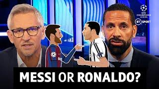 Lionel Messi or Cristiano Ronaldo - who would you rather?