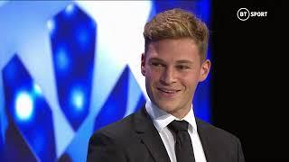 """""""Yoshua is not OK!""""  Joshua Kimmich wins the 2019/20 UEFA Men's Defender of the Year award"""