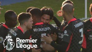 Takumi Minamino fires Liverpool into early lead against Crystal Palace | Premier League | NBC Sports