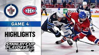 Second Round, Gm 4: Jets @ Canadiens 6/7/21 | NHL Highlights