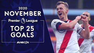 Top 25 Premier League goals from November 2020 | NBC Sports